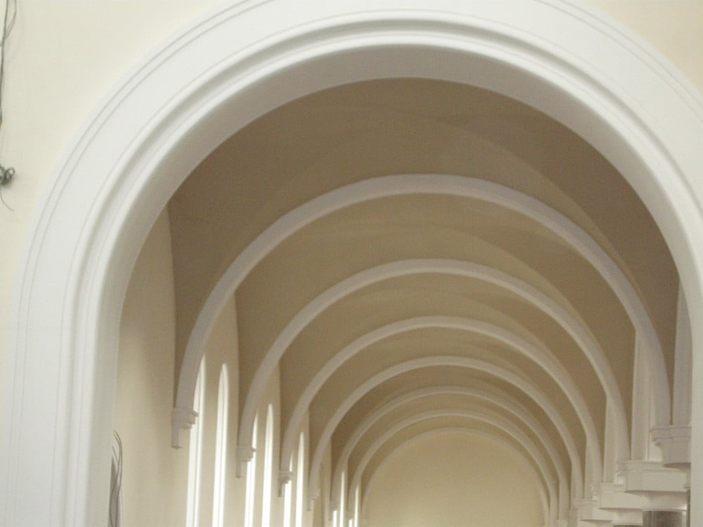 Arches in St. Agnes Church