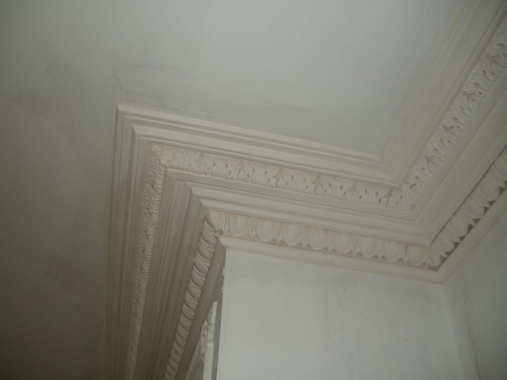 Copy of Georgian Cornice Reproduced to Match existing cornice