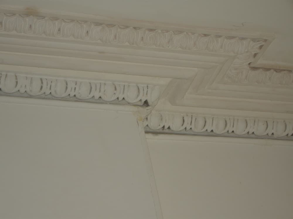 Cornice matched in to existing