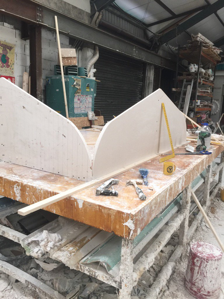 Preparation of Vaulted Ceiling